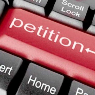 Про підписання  електронної петиції